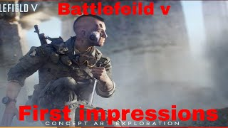BATTLEFIELD V First  impressions