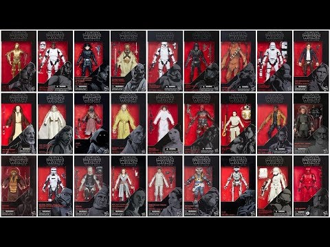 100 Star Wars Black Series Figures!!! - My Updated Collection - 2019.