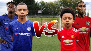 IGHALO vs TAMMY ABRAHAM  Man Utd vs Chelsea FOOTBALL CHALLENGE