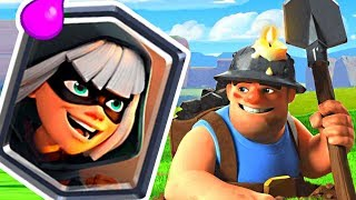 LADDER 10 GAME WINSTREAK! - Clash Royale