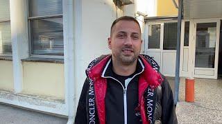 Đedović vidno raspoložen nakon izlaska iz suda - 23.10.2020.