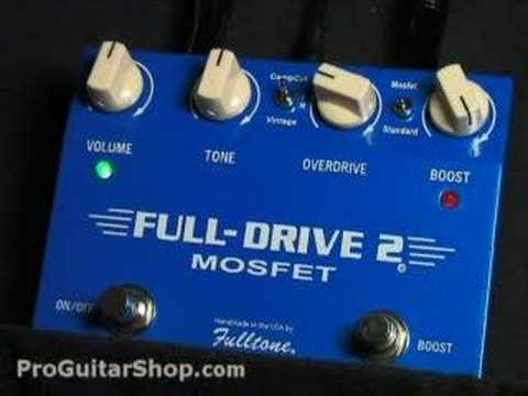 fulltone fulldrive 2 mosfet part 2 stratocaster youtube. Black Bedroom Furniture Sets. Home Design Ideas