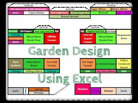 Garden Design Using Excel
