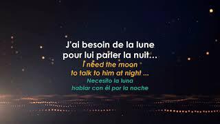 Manu Chao - J'ai besoin de la lune - French Song with Subtittles