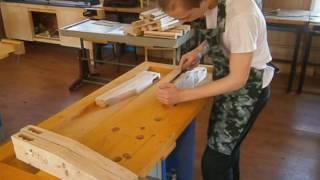 Урок столярного дела в 8 классе