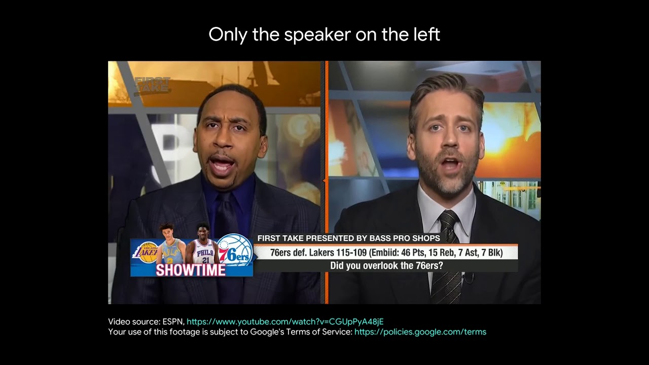 Looking to Listen: Sports debate