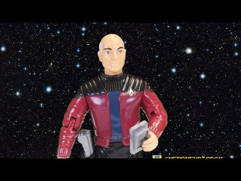 Captain Jean-Luc Picard - Playmates' FIRST Star Trek: TNG Series Figure Review - TREKBACK TUESDAY
