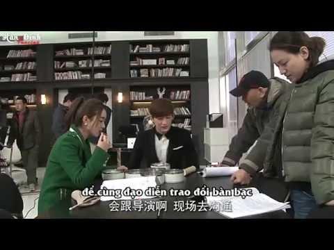 """[Vietsub] Hậu trường """"Sam Sam đến rồi"""" -  Trương Hàn tiết lộ thói quen quay phim"""