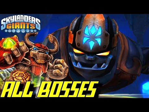 Skylanders Giants - ALL BOSSES