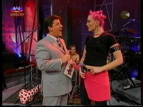 No Doubt Ex Girlfriend on Herman SIC TV Show Lisbon, Portugal 2000
