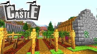 Weinberge, Fallgatter und Zugbrücke! - Minecraft CASTLE #12 - Ancient Warfare 2 Mod