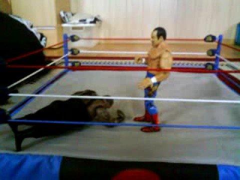 Wwe Jakks Big Daddy V Vs Chavo Guerrero Youtube