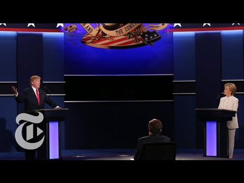 Final 2016 Presidential Debate (Full) | The New York Times