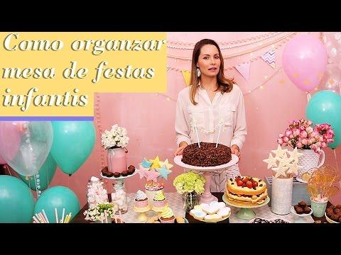 COMO ORGANIZAR MESA DE FESTA INFANTIL