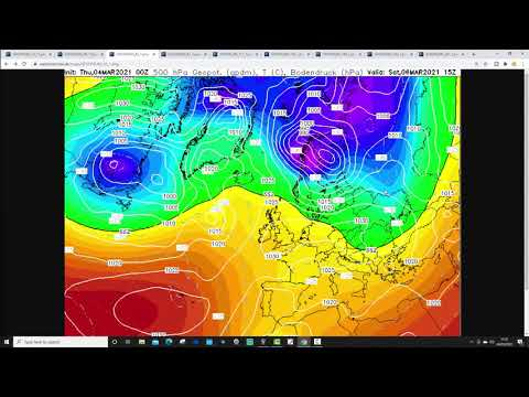 Ten Day European Weather Forecast: 4th To 14th March 2021