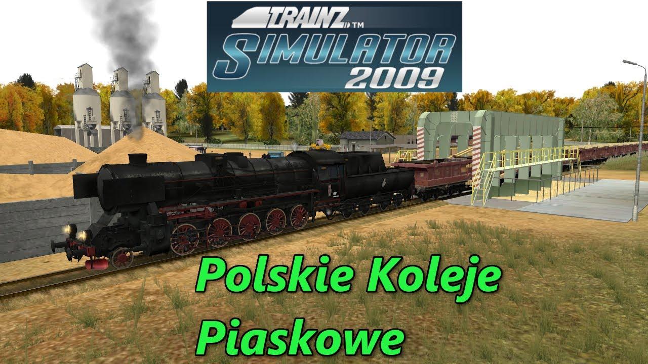 """Trainz Simulator 2009 - #1 Dodatek """"Polskie Koleje Piaskowe"""""""