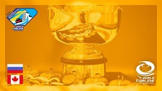 Russia v Canada - Women's gold medal game - World Junior Curling Championships 2019