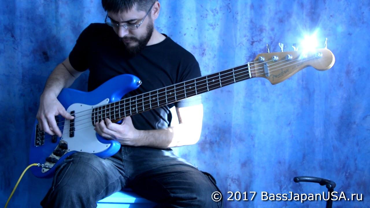 Fender American Standard Jazz Bass V USA 1995 Aguilar OBP-2 Preamp ...