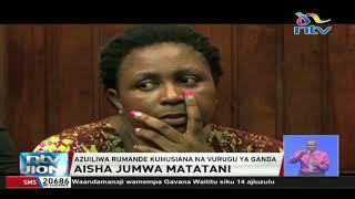 Mbunge Aisha Jumwa azuiliwa rumande baada ya vurugu, Ganda