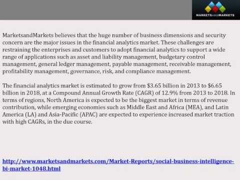 Business Intelligence Market worth $20.81 Billion by 2018