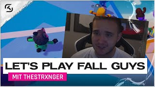 AB INS FINALE? | LET'S PLAY: FALL GUYS | SK THESTRXNGER