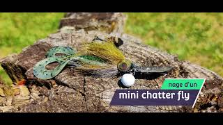 Nage d'un chater-fly mini