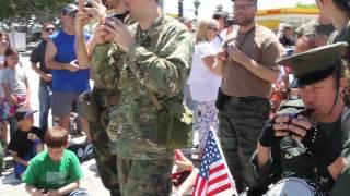 The Songbird Ocarina Army Band and The Lost Angels of Paradise at the DooDah Parade