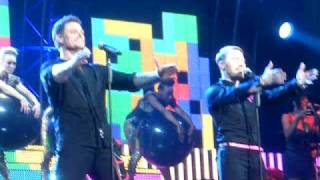 Boyzone - Can't Stop Thinking About You live at Birmingham's NIA Arena 16th June 2009