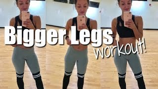 GROW Your Legs WORKOUT!