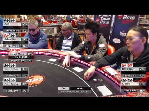 Ante Up for Charity Final Table - APT Experience Manila 2016