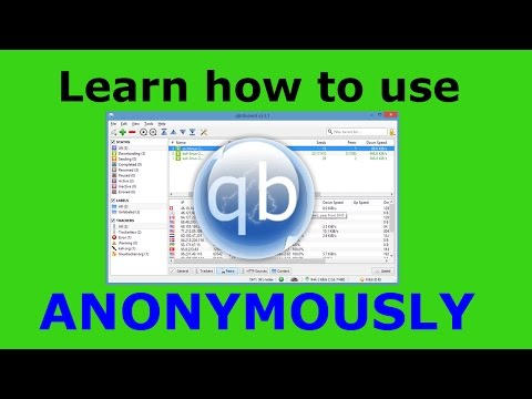 How to use QBittorrent Anonymously with a VPN or Proxy - YouTube
