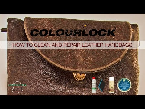 How to clean and repair leather handbags -  www.colourlock.com