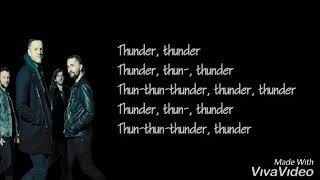 Thunder Lyrics - Imagine Dragons