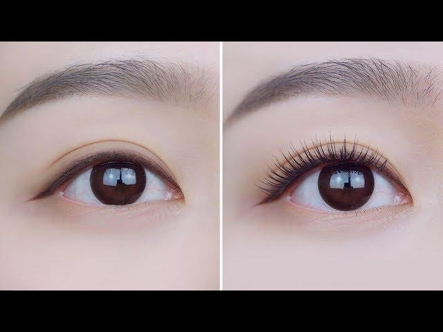 (ENG/JPN)속눈썹 자연스럽게 붙이는 방법 알려드릴게요٩(●ᴗ●)۶ㅣHow to put fake lashes naturallyㅣ소현 SOHYEON