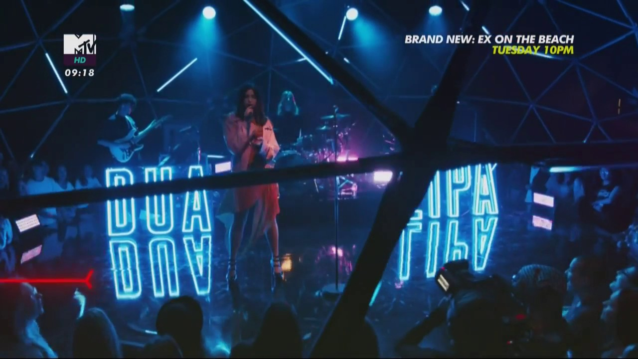 Download Dua Lipa - Blow Your Mind (Mwah) [Live from the MTV LIVE STAGE 2017]