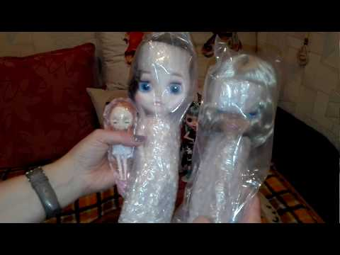 Куклы тёти Алёны, пополнение, подделки блайз с новым молдом, смугляночка и мини блайз с али экспресс