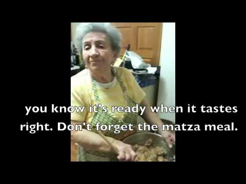 Bubby Chanele Makes Gefilte Fish In Yiddish