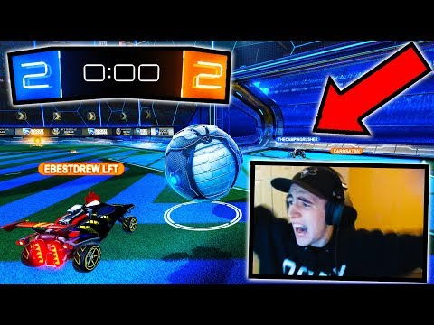 BEST OVERTIME SAVE & GOAL EVER: Game 5 Quarterfinals!! ( Rocket League 2s Tournament )