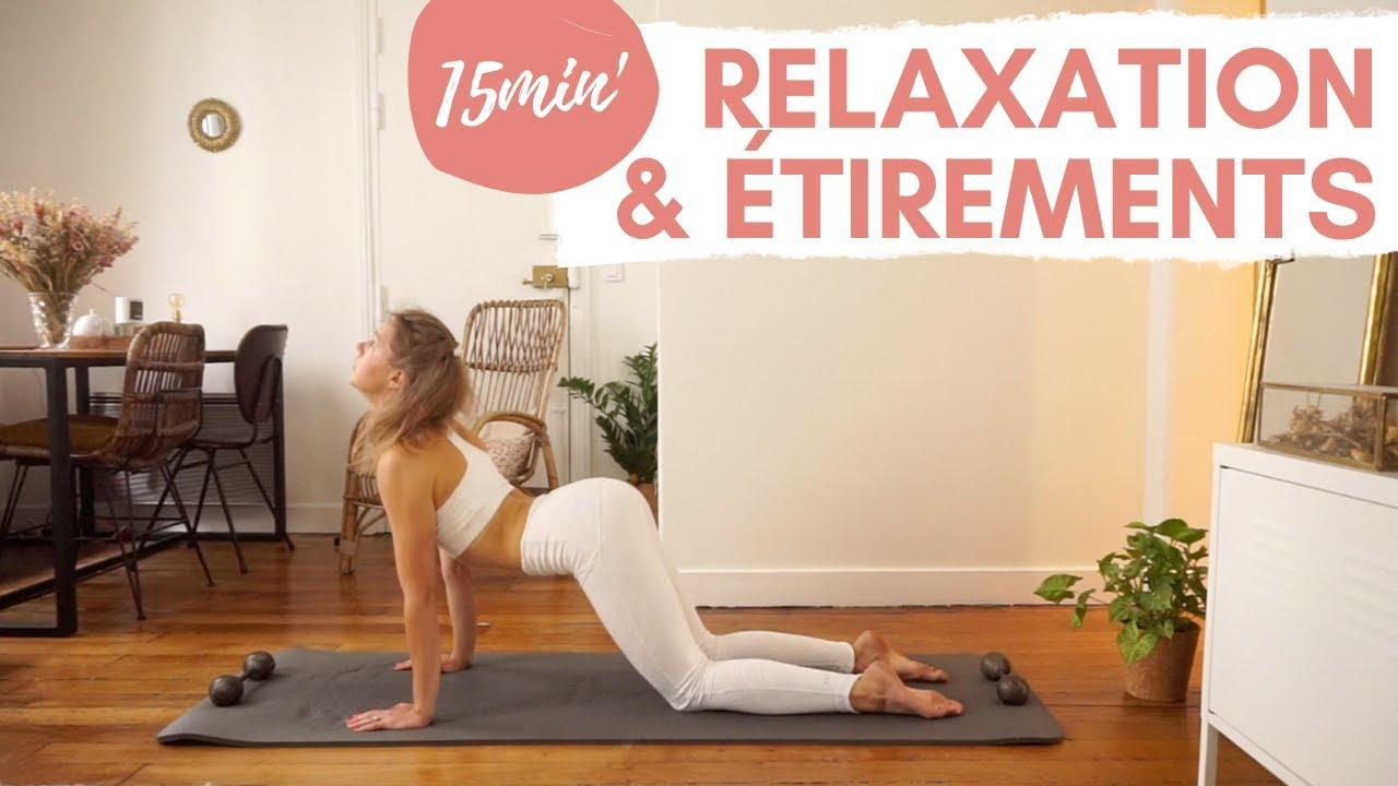 Séance de Yofit : 15 minutes de relaxation & d'étirements