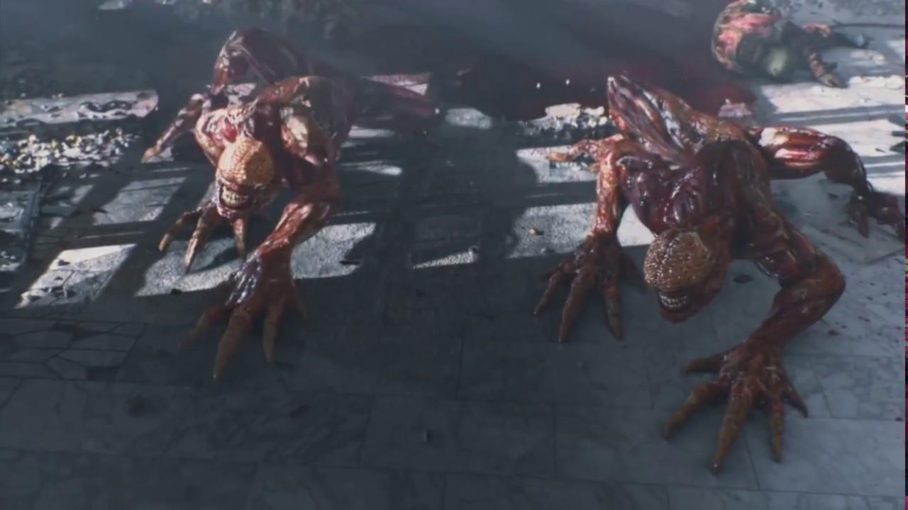 Download Resident Evil  Damnation (2012)   Attack Scene Part 1
