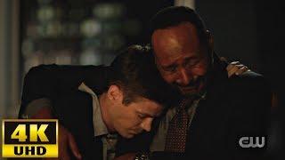 The Flash 6x04 Barry and Joe emotional scene [4K Ultra HD]