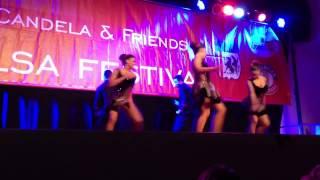 "Yamulee Dancers ""Macusa"" at Candela Salsa Festival Karlsruh"