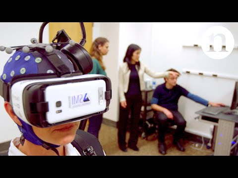 Exploring the human brain with virtual reality