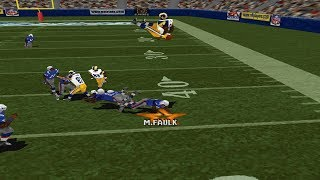 (PS1) Madden NFL 2000 cheat montage