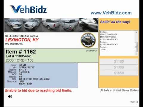 How to find a cheap car at Lexington auto auction
