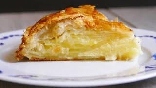 Французский закрытый картофельный пирог