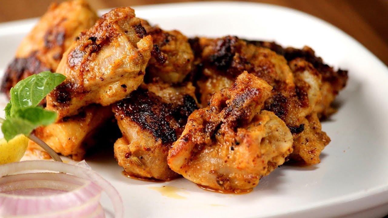 Achaari Chicken Tikka Sanjeev Kapoor Khazana Youtube
