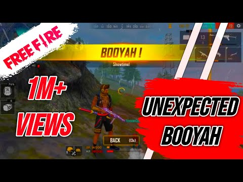Unexpected Booyah - Free Fire Live Rush Rank Game Play