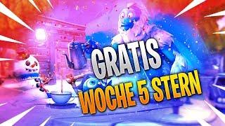 """GRATIS STERN AUS WOCHE 5"" Season 7 Mission!🔥😱 - Fortnite Battle Royale"