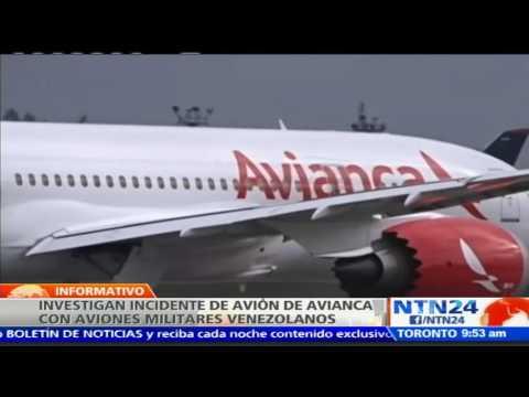 Avianca denuncia incidente con aviones militares venezolanos por presunta violación del espacio